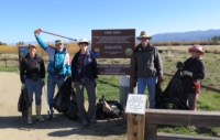 Birders ready to collect trash