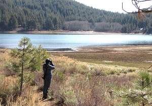 Lynn looking Spooner Lake