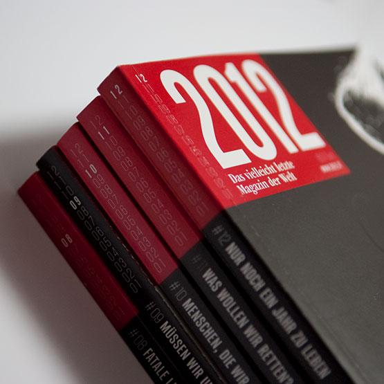 2012 – das vielleicht letzte Magazin der Welt