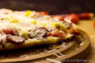Fladenbrot-Pizza,