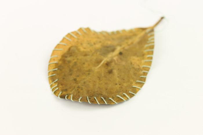 leaf stitch project by Birgit Moffatt