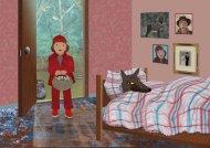 Roodkapje illustratie 4: wolf in grootmoeders bed
