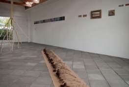 Tentoonstelling bij Sigrid Hamelink in het Batavushuisje