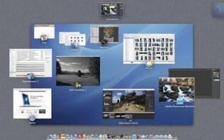 Bild: Mac OS X 10.7 LION mit diversen Anwendungen zur Bearbeitung von Digitalfotos.