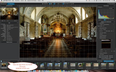 Bild: Ein Schnappschuss, wie er oft vorkommt - Wenig Licht, kein Stativ, aber eine gute digitale Spiegelreflexkamera. Also: ISO hochgedreht und fotografiert.