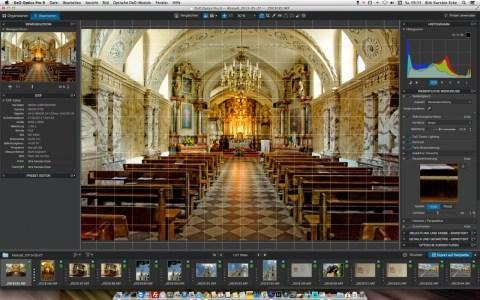 Bild: Dieses Foto wurde mit einer NIKON D700 in einer Kirche in Litauen aufgenommen - ohne Stativ und mit einer adäquaten ISO-Emfindlichkeit von 6400.