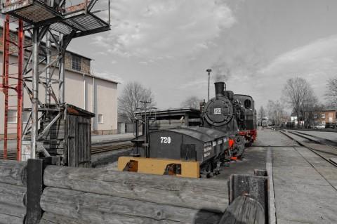 Bild: Mächtig unter Dampf - Dampflok an der MaLoWa in Klostermansfeld. ISO 200 ¦ f/7,1 ¦ 24 mm ¦ 1/320 s ¦ kein Blitz. Klicken Sie auf das Bild um es zu vergrößern.