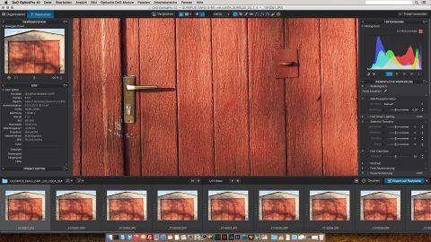 Bild: Die Fotos im JPEG Format sind in der Mitte knackig scharf. Auschnitt in 100 % Größe. OLYMPUS OM-D E-M1 mit LEICA DG SUMMILUX 25 mm / F1.4. ISO 200 ¦ f/1,4 ¦ 25 mm ¦ 1/3200 s ¦ kein Blitz. Klicken Sie auf das Bild um es zu vergrößern.