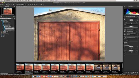 Bild: Die tonnenförmigen Verzeichnungen des LEICA DG SUMMILUX 25 mm / F1.4 korrigiert der aus Japan stammende RAW Konverter SILKYPIX Developer Studio Pro 6 aber tadellos - auch ohne manuelle Eingriffe des Fotografen.