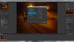 Bild: Das Foto wird in DxO Optics Pro 10 entrauscht und im TIFF Format auf die Festplatte geschrieben. Klicken Sie auf das Bild, um es zu vergrößern.