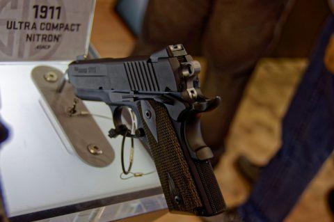 Bild: Last but not Least: die treuen Leser wissen es, M1911 aus dem Hause SIG als Kompaktversion