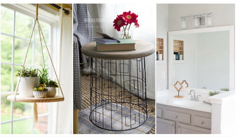 10 Stunning and Simple DIY Projects For Your Home