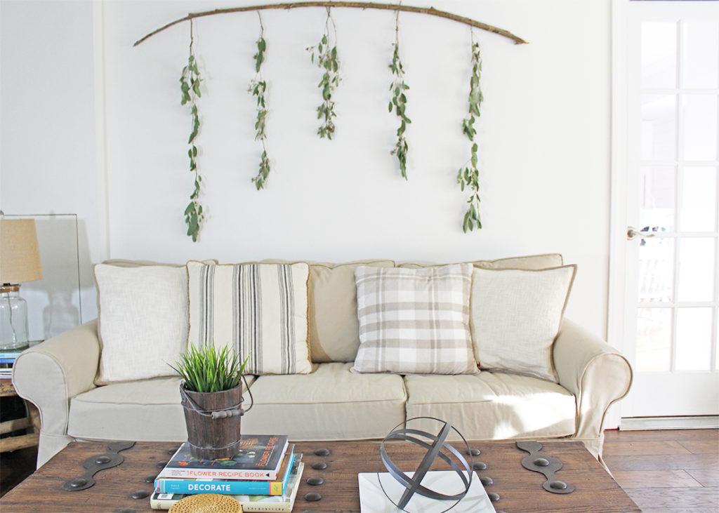 12 Affordable Ideas for Large Wall Decor   Birkley Lane ... on Wall Decoration Ideas  id=75146