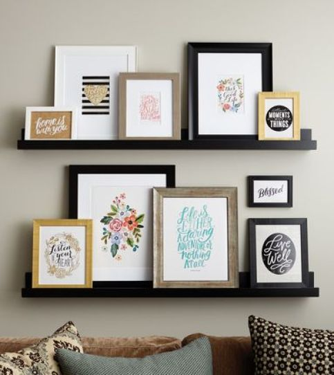 Gallery wall, gallery wall ideas, gallery wall layout, gallery wall living room, how to do a gallery wall, how to create a gallery wall