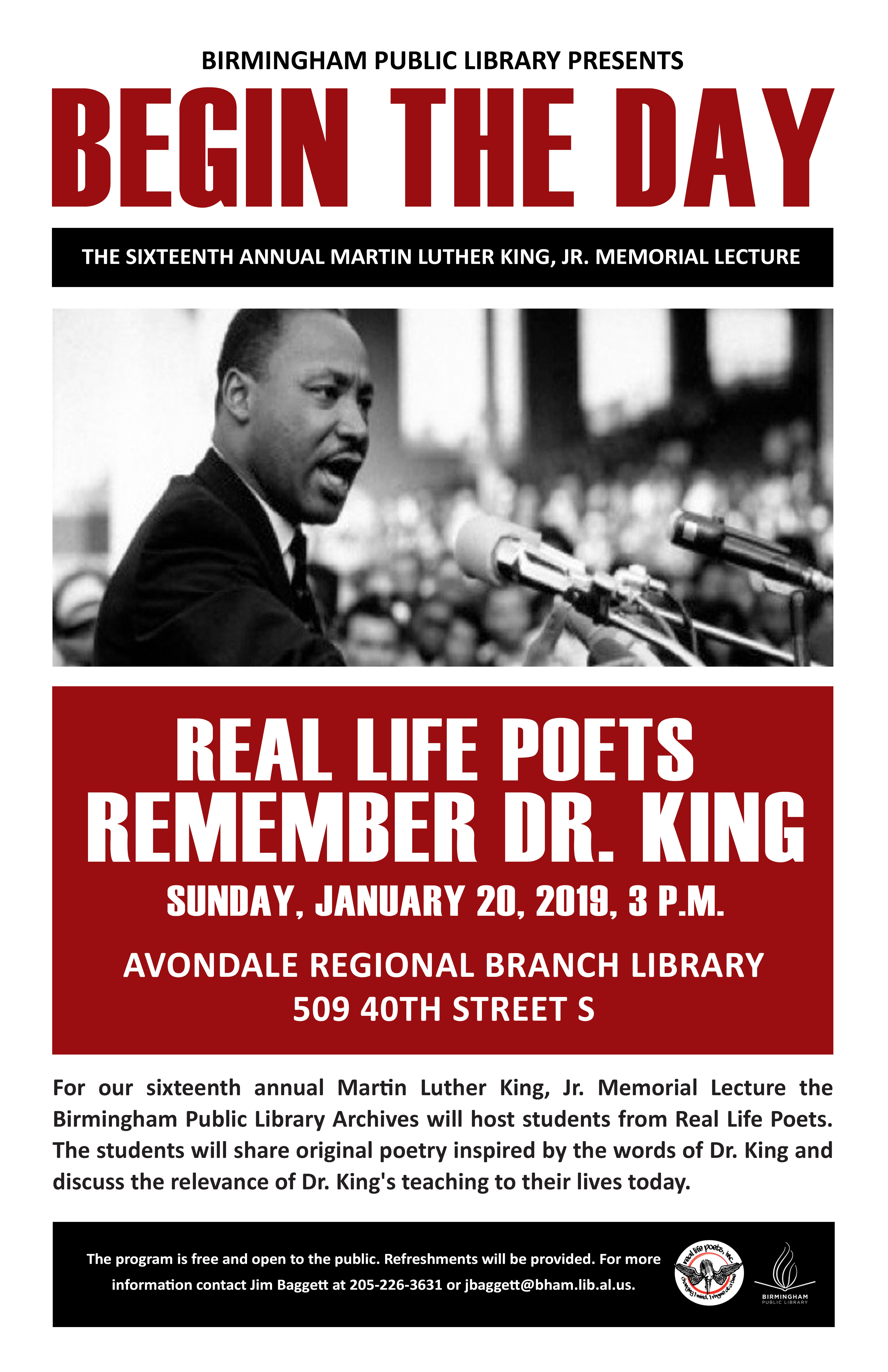 The Annual Martin Luther King Jr Memorial Lecture