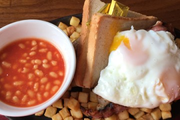 Railway Inn Full English Breakfast