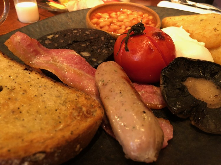 Alchemist - Full English Breakfast - insipid sausage