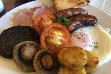 St Aubyns B and B Full English BreakfastSt Aubyns B and B Full English Breakfast