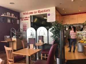 Inside Roasters Restaurant and Coffee Bar Tamworth