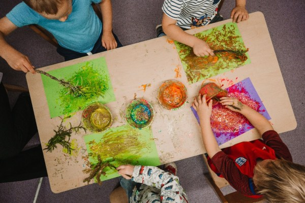 The Maples Day Nursery - open-ended play