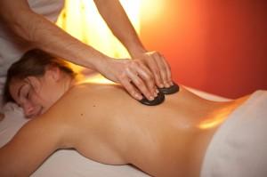 Hot stone massage picture 1