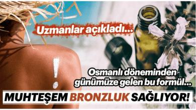 Photo of Osmanlı Döneminden Günümüze Gelen bu formül Doğal bir Bronzluk sağlıyor.