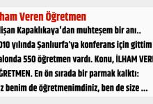 Photo of İlham Veren Öğretmen