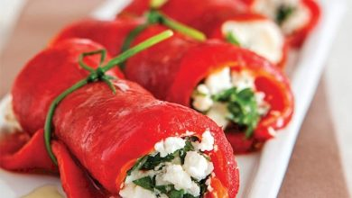 Photo of Kırmızı biber sarması hem leziz hemde kolay!