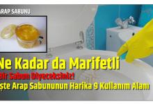 Photo of Ne Kadar da Marifetli Bir Sabun Diyeceksiniz! İşte Arap Sabununun Harika 9 Kullanım Alanı