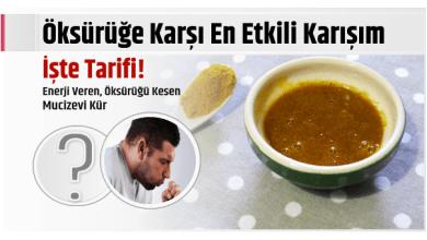 Photo of Öksürüğe Karşı En Etkili Karışım işte Tarifi!