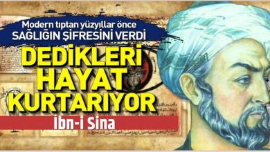 Photo of İbn-i Sina'nın mucizevi öğütleri