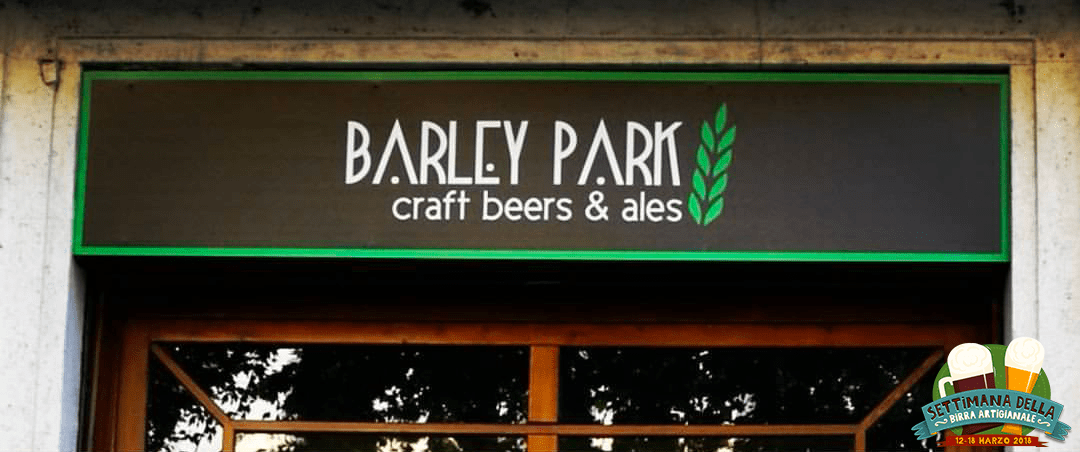 Intervista Barley Park Craft Beers and Ales Milano Settimana della Birra Artigianale 2018