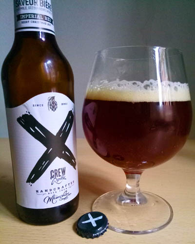 crew republic x imperial red ale