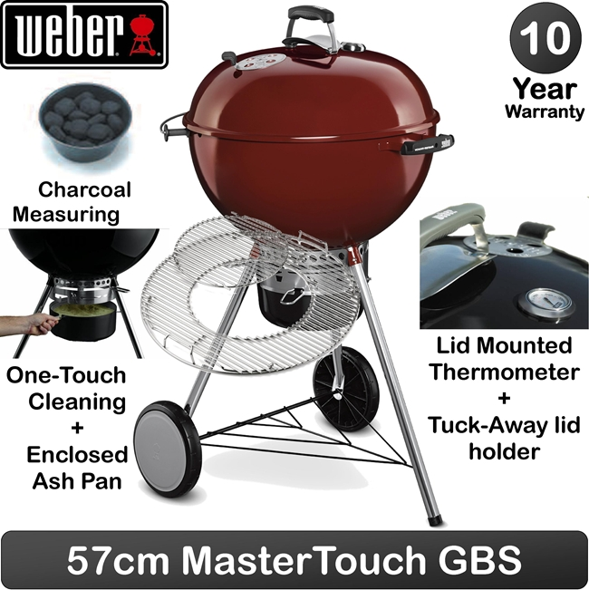 weber grill holzkohlegrill one touch premium 57 cm expert event. Black Bedroom Furniture Sets. Home Design Ideas