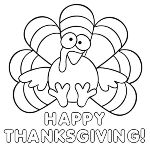 Thanksgiving Coloring Pages 2019 1