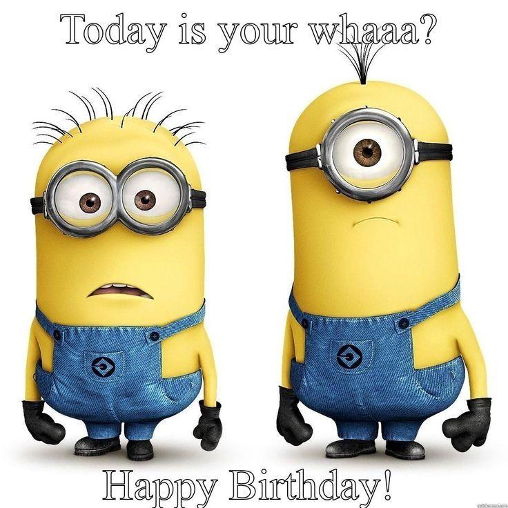 Funny Minion Birthday Images Imaganationface