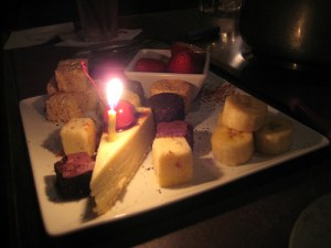 Fondue Birthday Party