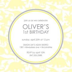 simple birthday invites