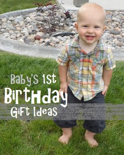 1st Birthday Gift Boy Image