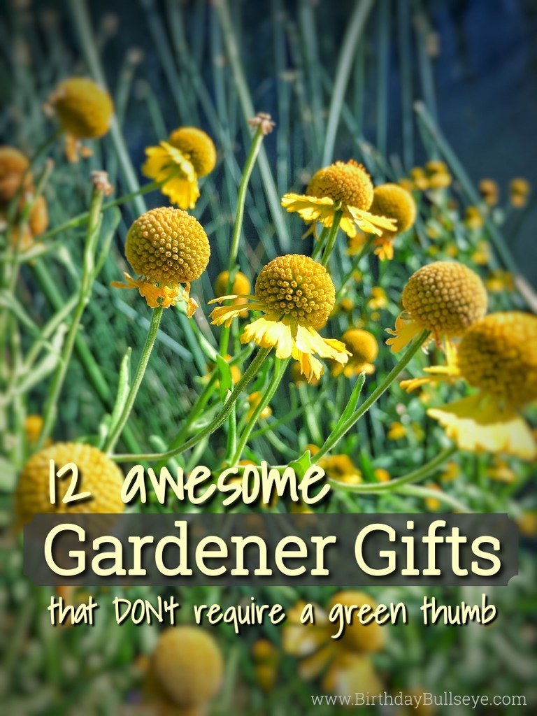 Gardener Gifts for Birthdays