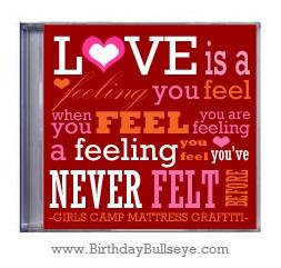 Romantic Birthday Gifts CD Case