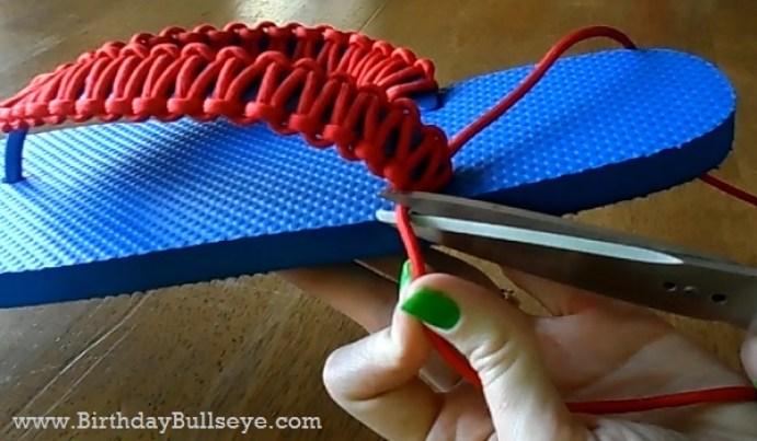 Flip Flop Gift Step 5e