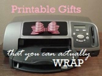 Printable Birthday Gifts