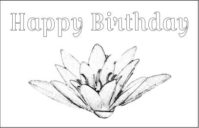 Lotus Flower Card Image