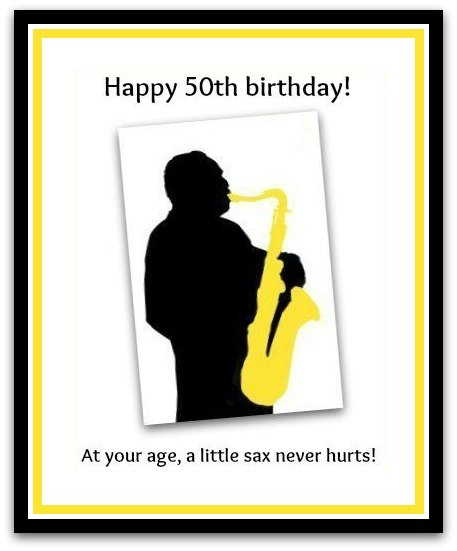 download free birthday postcard - 50th Birthday Wishes