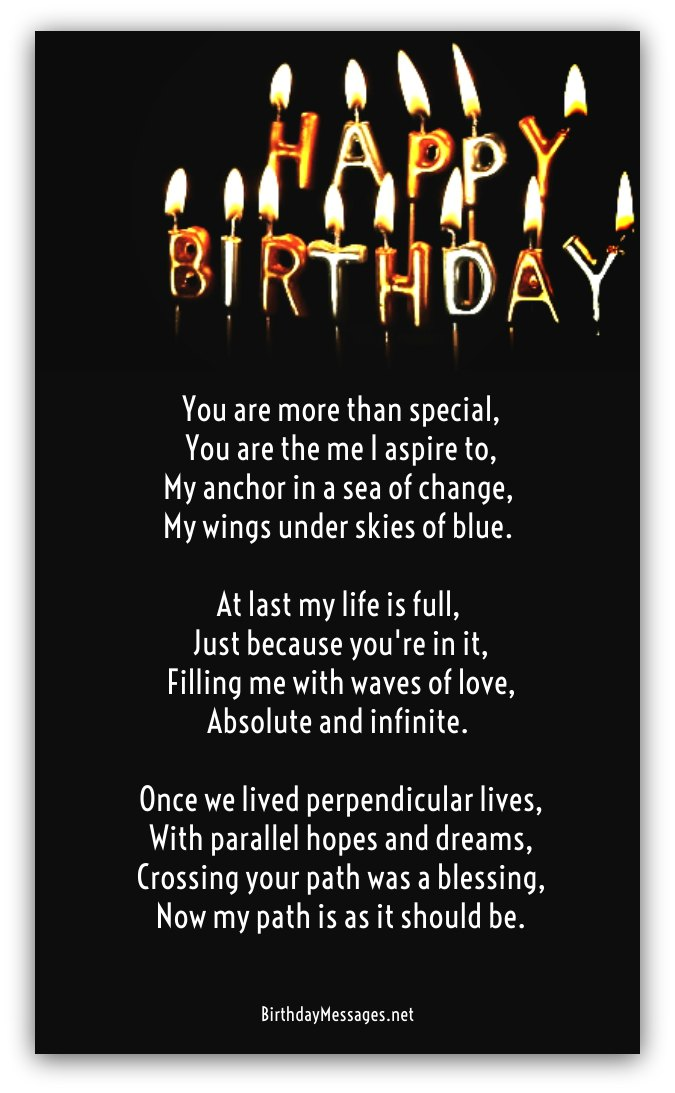 Clever Birthday Poems Page 2
