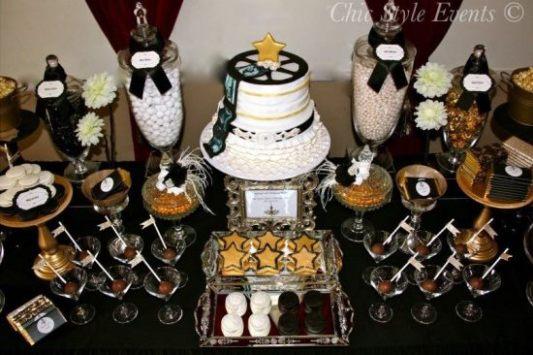 Hollywood Glam Cake Pops