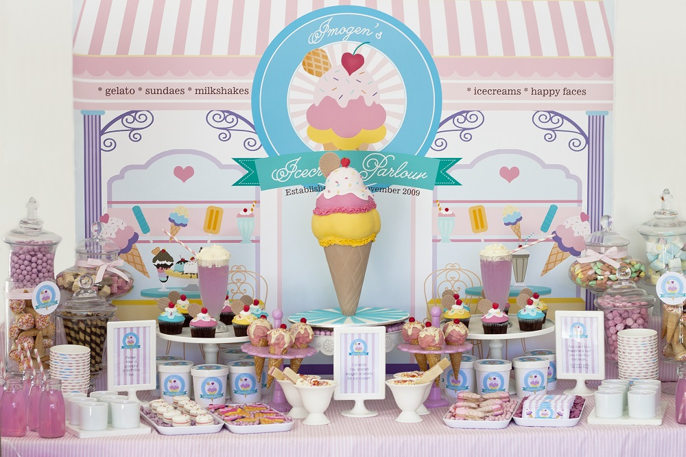 Ice Cream Parlour Party Birthday Party Ideas Amp Themes