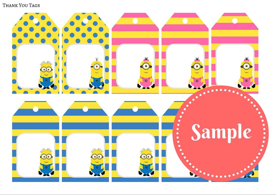 Free Minion Party Printable