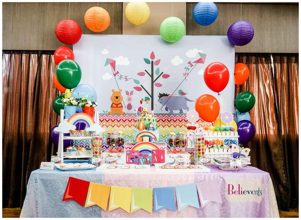 Baby Shower Invitations Rainbow